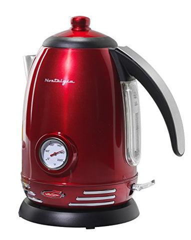 Retro Stainless Steel Electric Water Kettle
