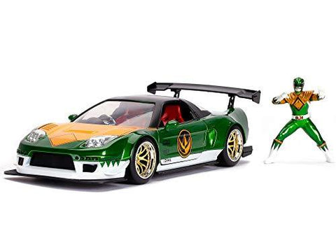 Power Rangers Honda NSX Type-R 1:24 DieCast - UniqueVintages