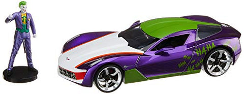 Joker & 2009 Chevy Corvette Stingray 1:24 DieCast