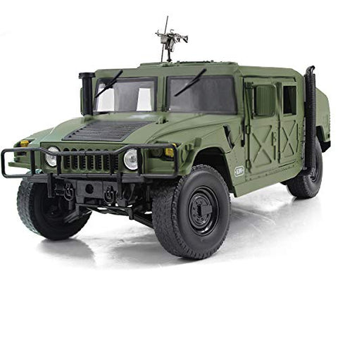 Humvee Military Armored Vehicle Battlefield Truck 1:18 DieCast