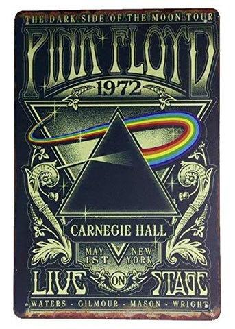 Pink Floyd Vintage Metal Sign