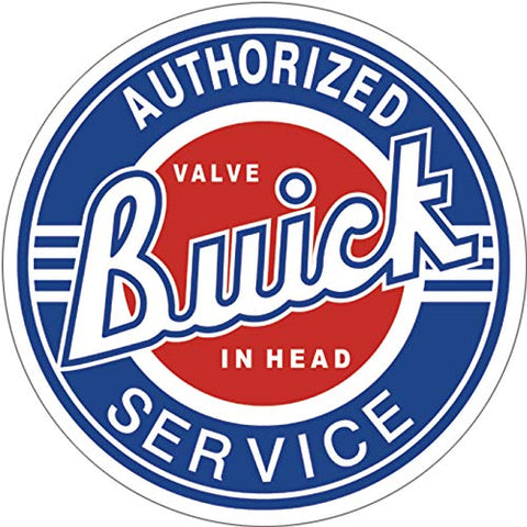 Buick Service Metal Sign 11.75""
