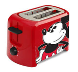 Disney Retro Mickey Mouse 2 Slice Toaster