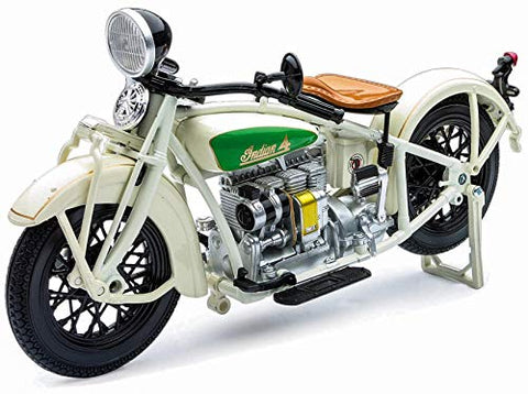 1930 Indian Chief White Bike 1:12 DieCast