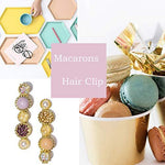 20 Pcs Macaron Hair Clips for Women, Hair Accessories - UniqueVintages