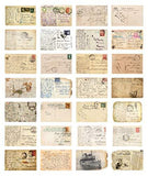 30 Vintage old travel Postcards - UniqueVintages