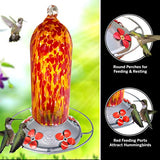 Bell Tower Retro Hummingbird Feeder 20oz