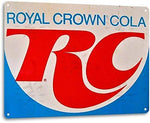 Royal Crown Cola Vintage Metal Sign
