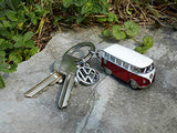 VW SAMBA BUS T1 CAMPERVAN KEYCHAIN - UniqueVintages