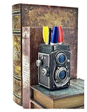 Retro Camera Pencil Holder