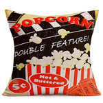 Movie Theme Vintage 4 set Pillow Covers - UniqueVintages