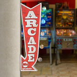Arcade Vintage Advertising Sign - UniqueVintages