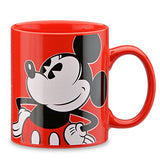Disney Retro Mickey Mouse 1-Cup Coffee Maker with Mug
