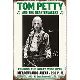 Vintage Tom Petty and the Heartbreakers 1991 Metal Sign