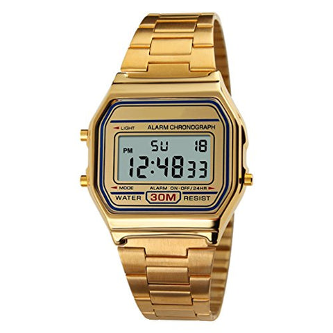 Vintage Retro Vigoroso Digital Casual Watch