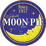 Moon Pie Round Metal Sign 12""