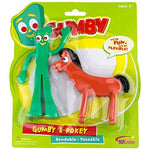 Gumby & Pokey Bendable Figure Pair - UniqueVintages