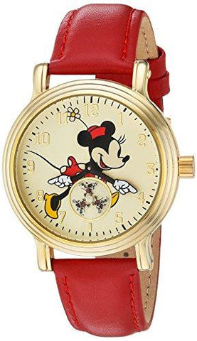 Disney Minnie Mouse Gold Vintage Watch - UniqueVintages