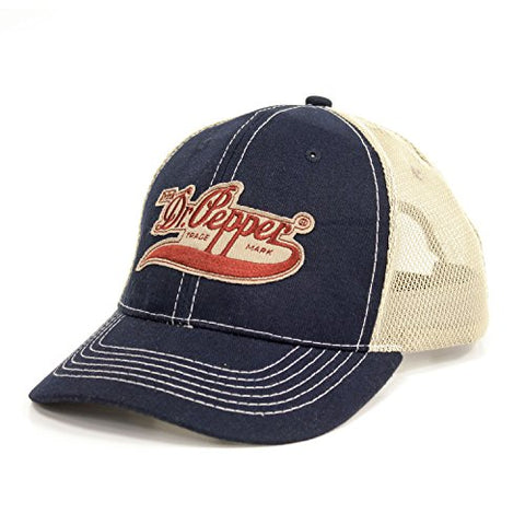 Drink Dr Pepper Hat Vintage Trucker Cap