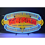 "Mopar 32"" Vintage Shield Neon Sign"