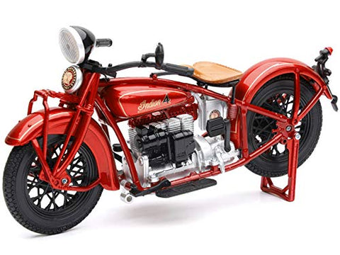 1930 Indian 4 Red 1:12 DieCast Motorcycle