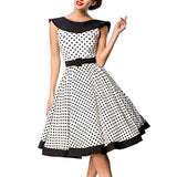Vintage Fashion Retro 1950s Women Dress