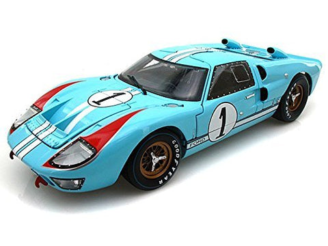 1966 Ford GT40 Mark II #1 Le Mans 1:18 DieCast