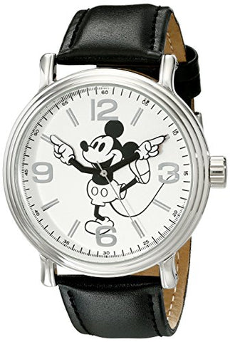 Disney Vintage Mickey Mouse Silver-Tone Watch