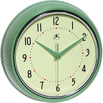 Retro Round Redux Wall Clock 9.5""