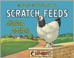 Vintage Scratch Feeds Metal Sign 16""