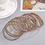 Vintage Multi Bangle Set