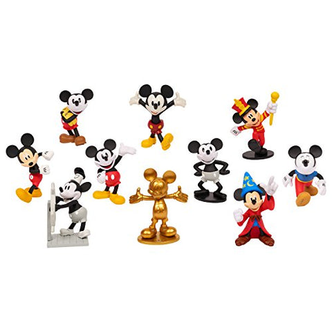 Mickey's 90th anniversary 10 Pack Retro Set
