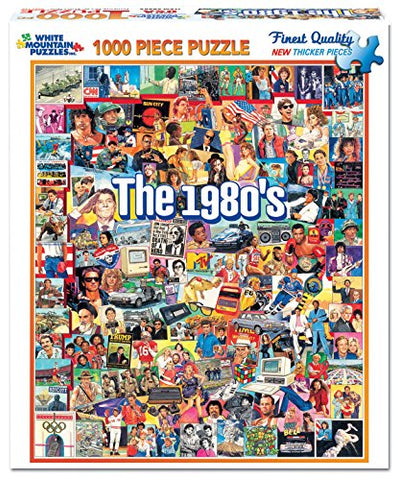The 80's Puzzle (1000 pieces)