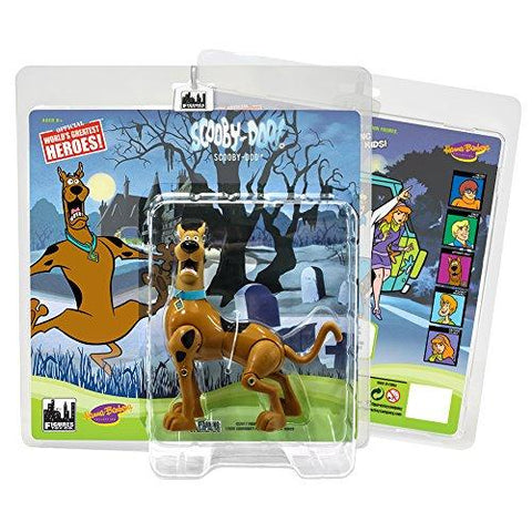 Retro 8 Inch Scared Scooby Doo - UniqueVintages