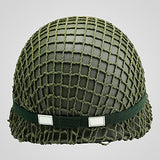 Retro WWII US Army M1 Green Helmet Replica