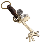 Handmade Retro Alloy Keychain - UniqueVintages