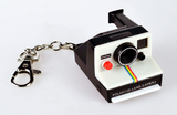 Polaroid Camera Clickable Keychain