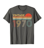 Vintage Classic Born In 1970 T-Shirt