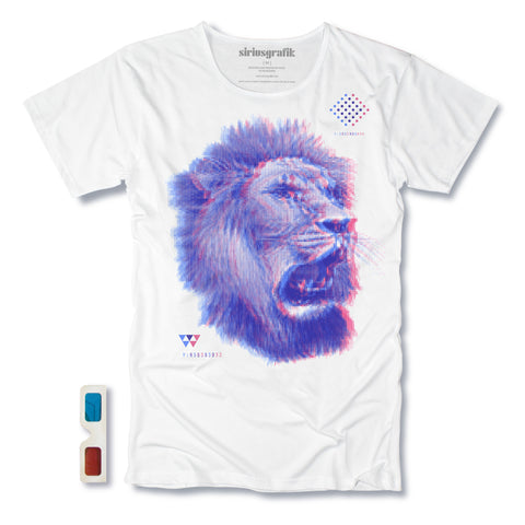 The King 3D | White