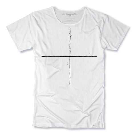 Simple Cross | White