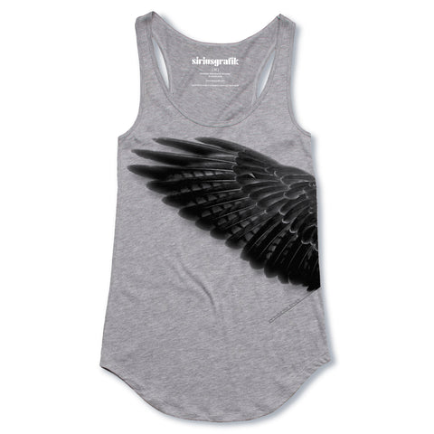 We Make Our Truth | Grey Marle | Racer Back Singlet