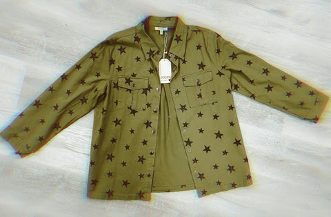 OLIVE STAR SHACKET