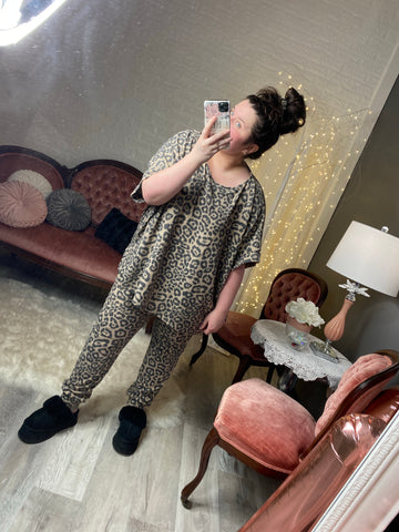 THE COZIEST LEOPARD SET