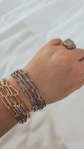 MAGNETIC CHAIN BRACELET STACKS