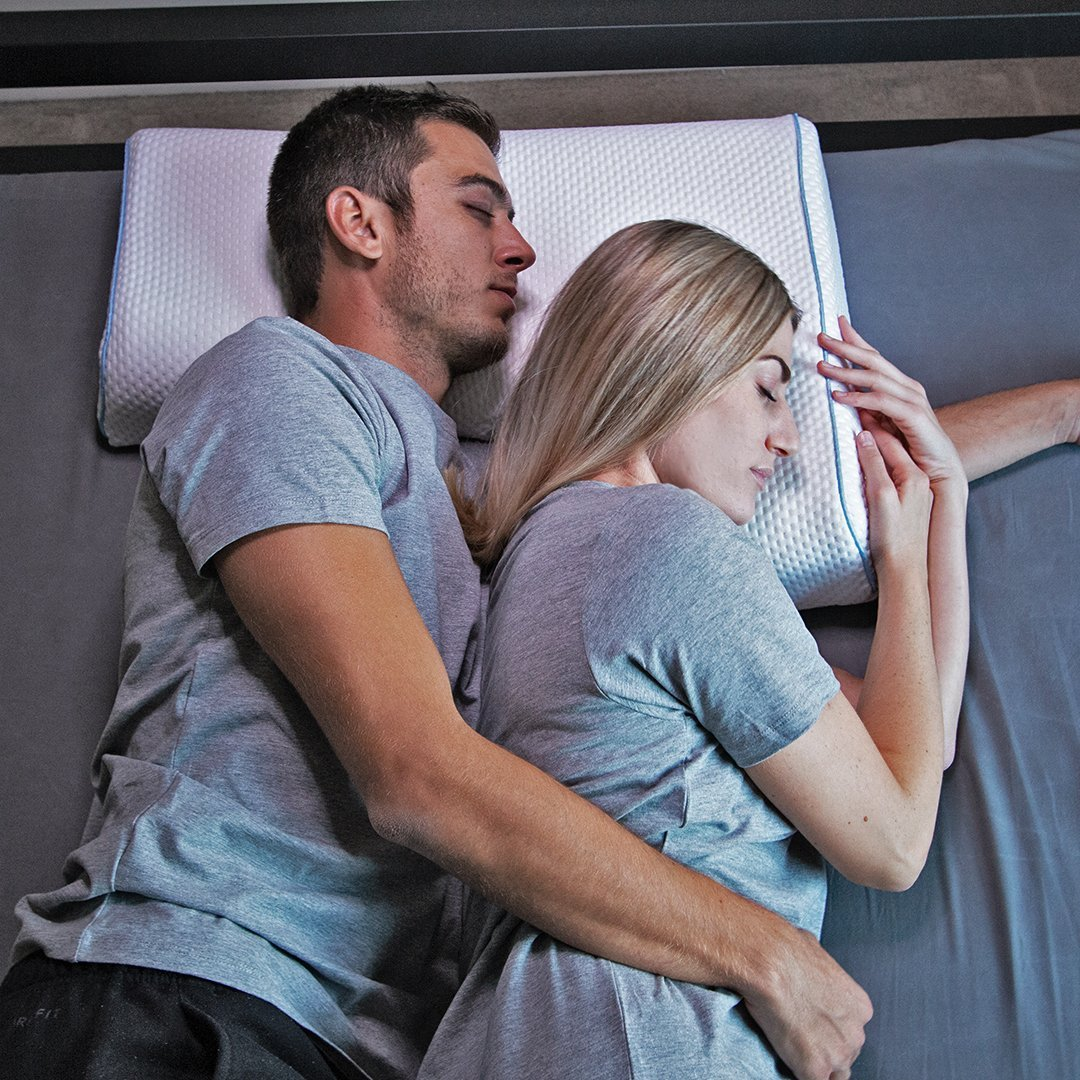 The Arm Pillow – Foam Pillow for Couples & Side Sleepers - The Smart Pillows