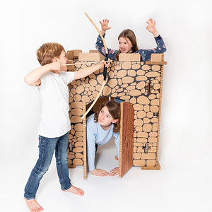 Paper Hive® Cardboard Playhouse Castle