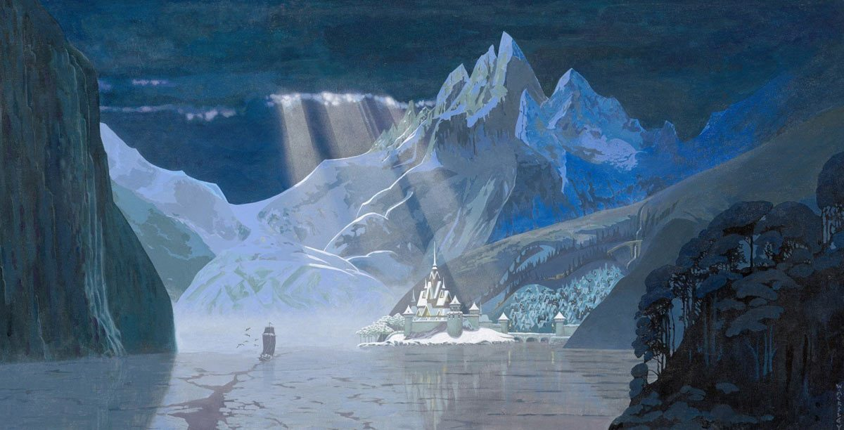 Frozen Artwork 'Winter in Arendelle'