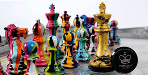 Lhouette: the All-Conquering Chess Set
