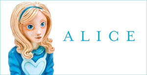 Alice & Humpty sculptures arrive at Wyecliffe...