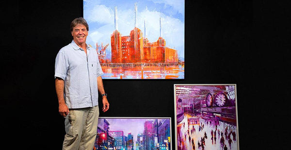 Introducing Richard  Knight - Wyecliffe's New Cityscape Artist